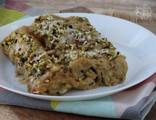 Cannelloni al pistacchio