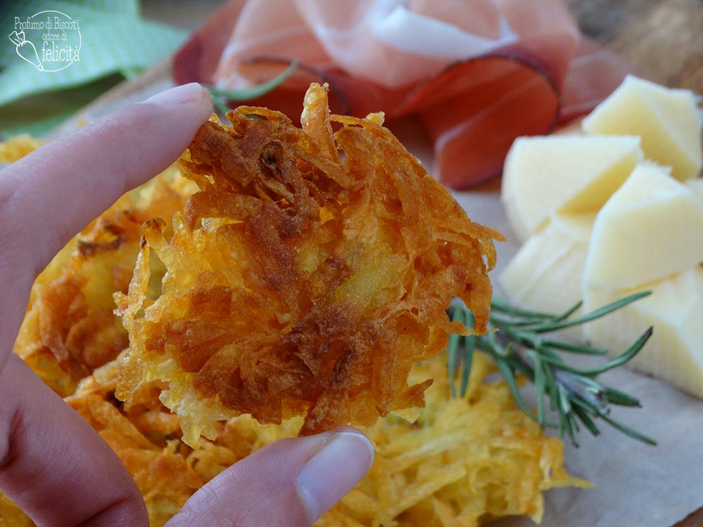 rosti di patate croccanti
