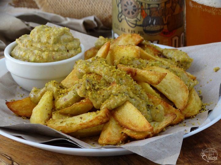 patate al pistacchio fritte come al fast food