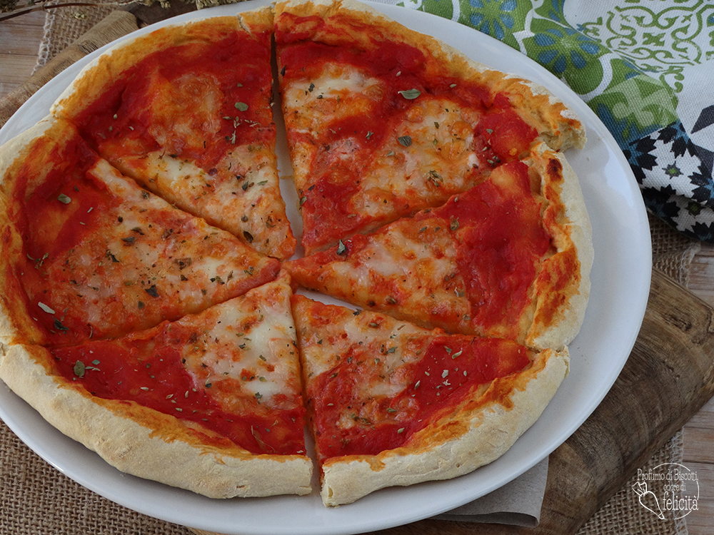pizza veloce con lievito istantaneo