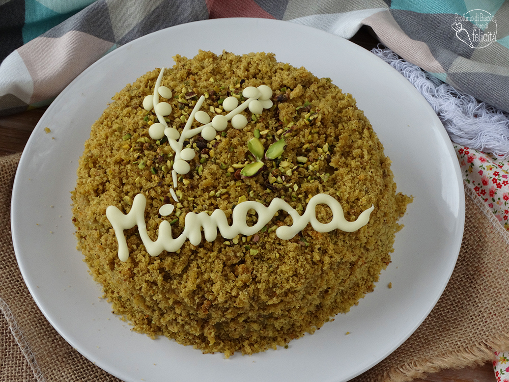 torta mimosa al pistacchio