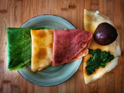 CREPES COLORATE