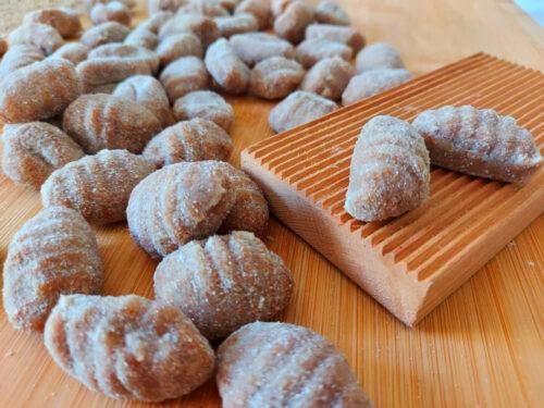 gnocchi di patate con farina integrale