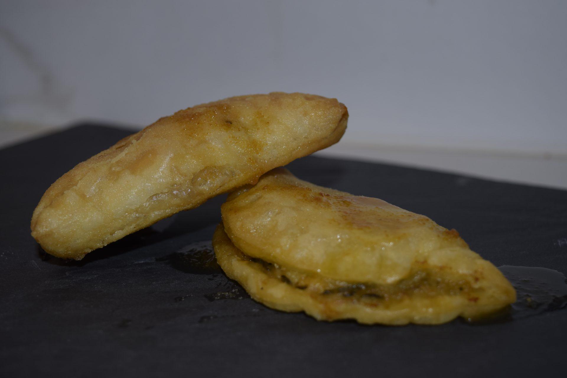 Fagotti Friabili (Gamberi e Zucchine)
