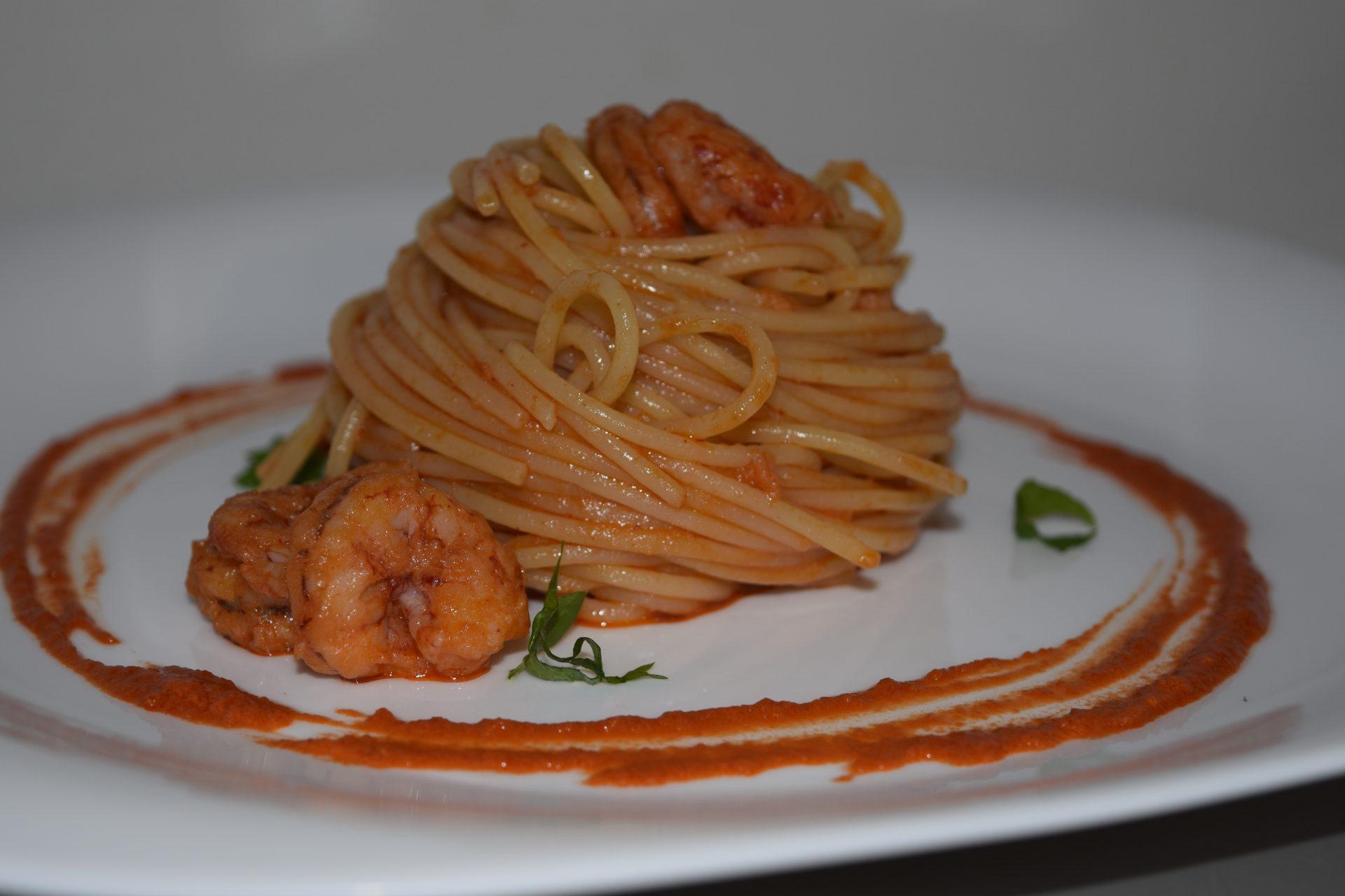 Spaghetti al Gambero Rosso
