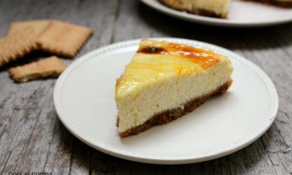 Cheesecake ricotta e yogurt