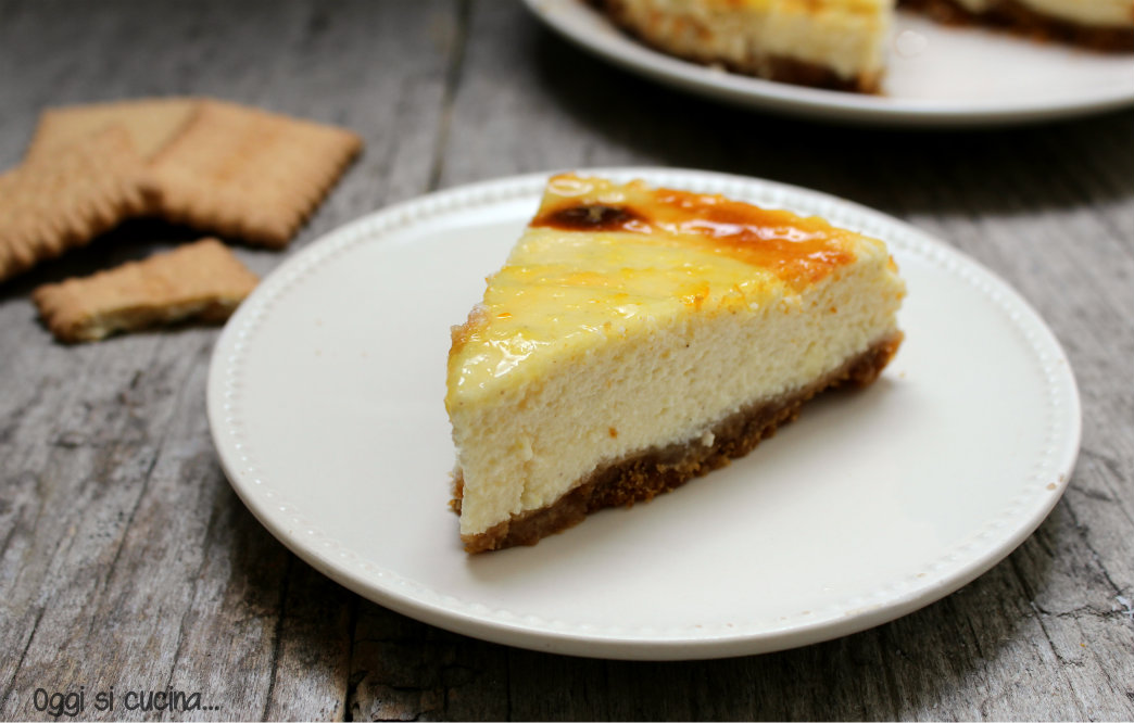 Cheesecake light con yogurt greco - ricetta senza cottura ...