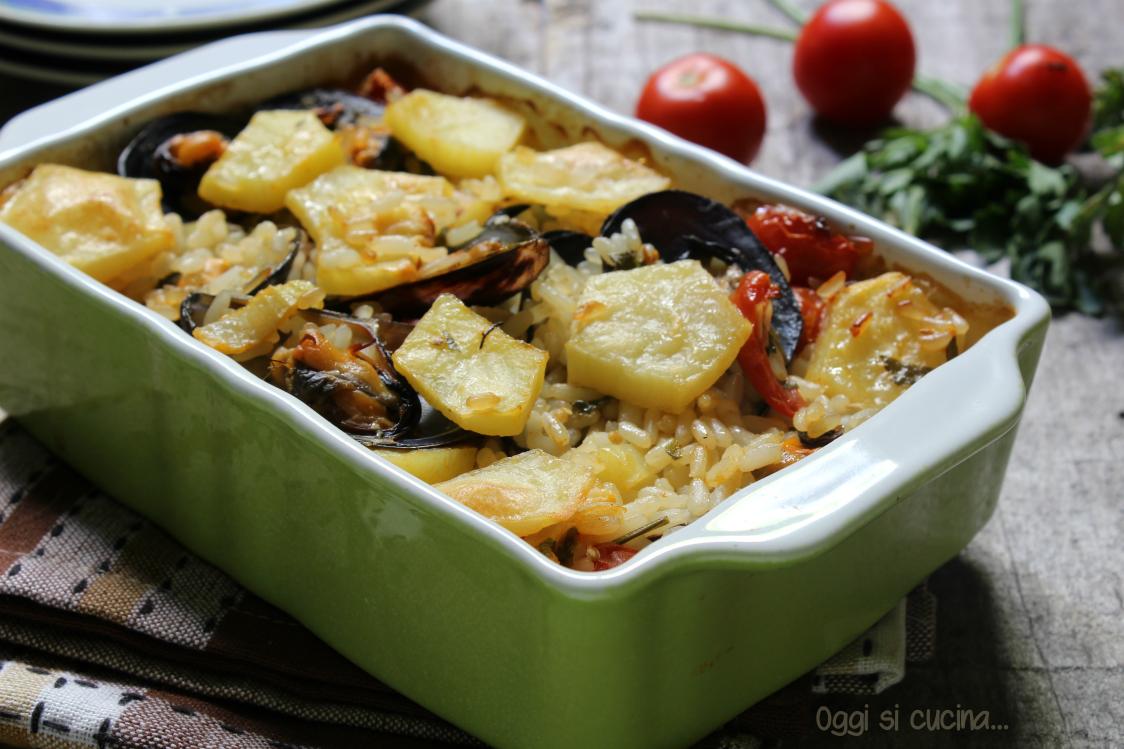 Riso patate e cozze |ricetta tipica pugliese