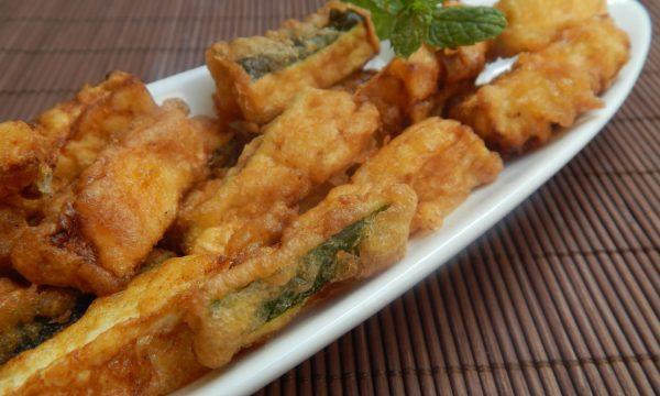 Bastoncini di zucchine alla paprika