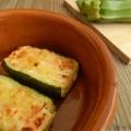 Mini barchette di zucchine e prosciutto