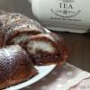 Ciambella soffice al cacao con cuore di cocco