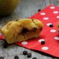 Tortine alle mele e gocce di cioccolato