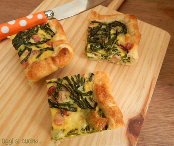 Ricetta Quiche Asparagi E Pancetta.Quiche Di Asparagi E Pancetta Oggi Si Cucina