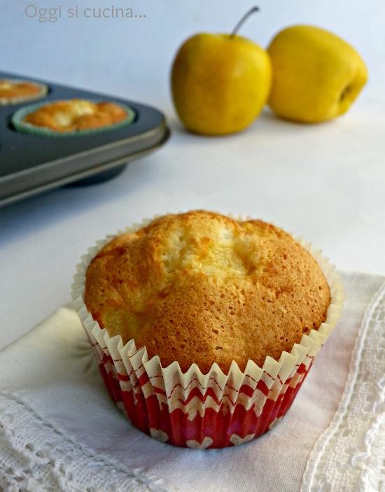 muffins con albumi mele e cocco