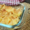 Patate gratinate al latte
