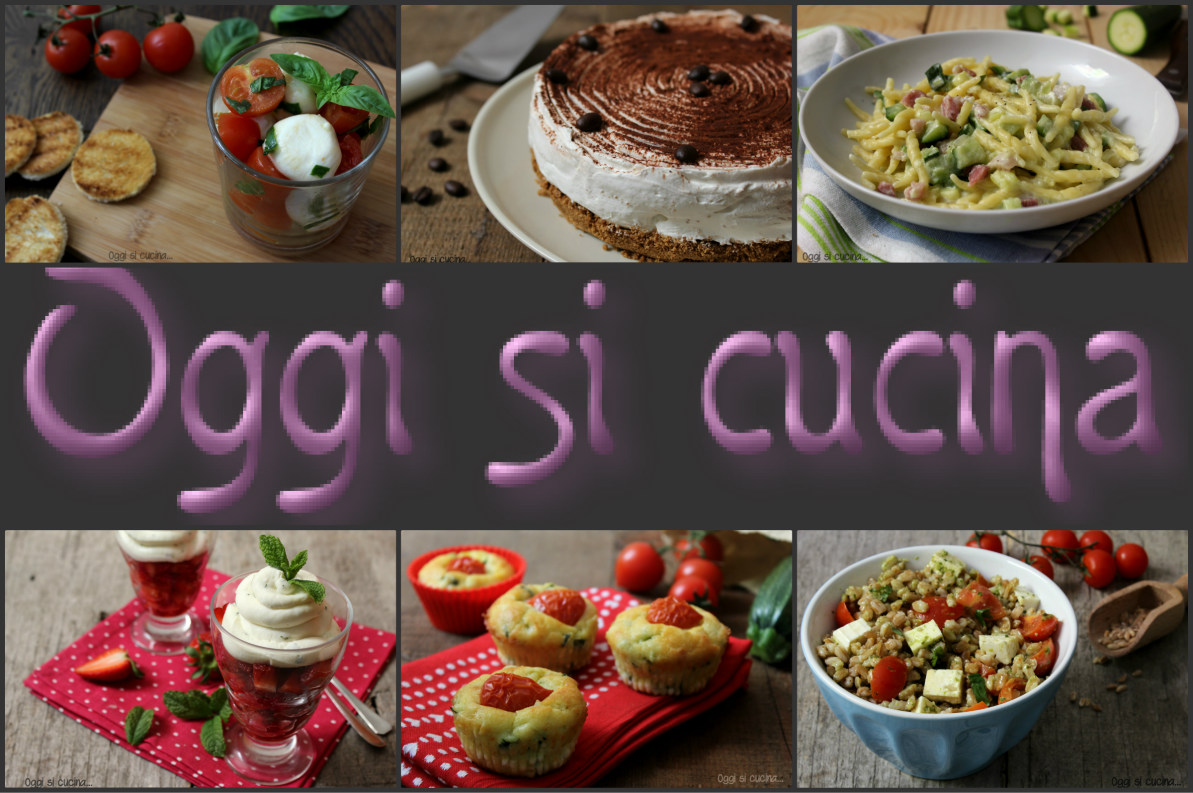 Oggi si cucina le ricette semplici di antonella for Ricette semplici cucina
