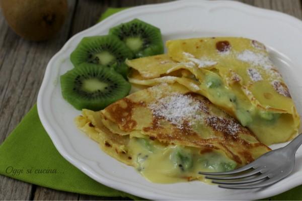 crepes crema e kiwi