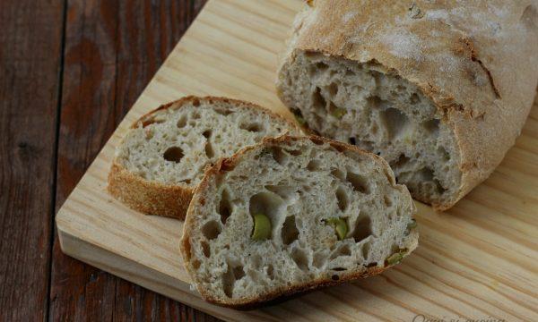 Pane alle olive a lievitazione naturale