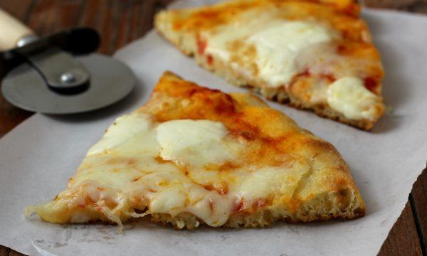 Pizza in teglia con metodo poolish