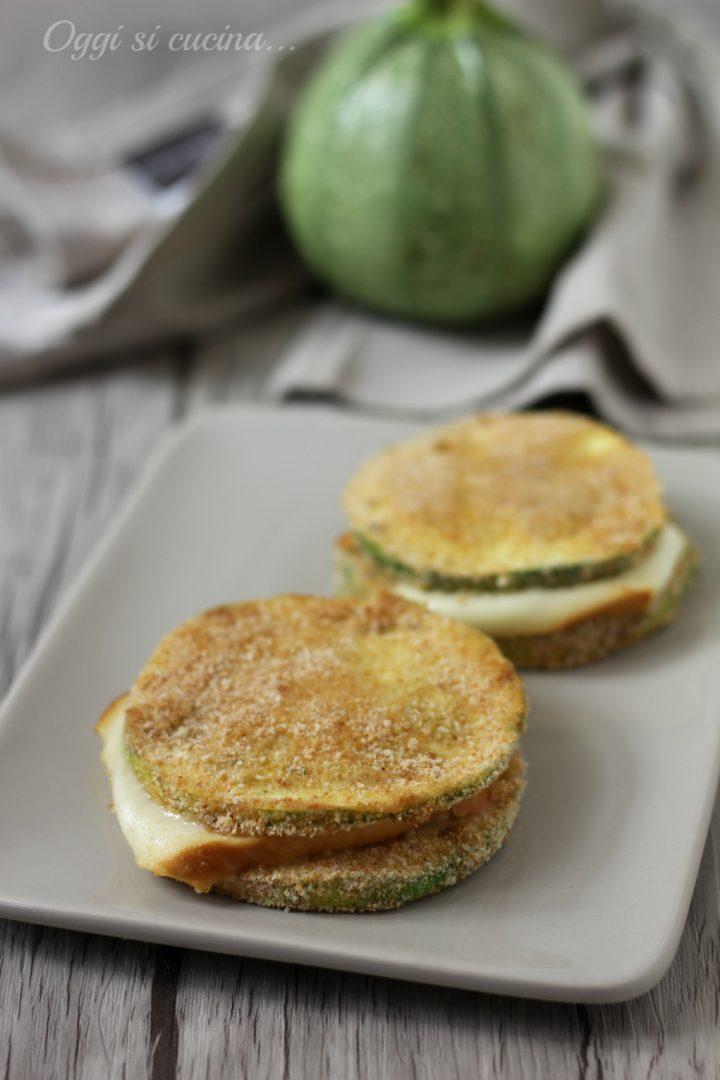 sandwich di zucchine fumé
