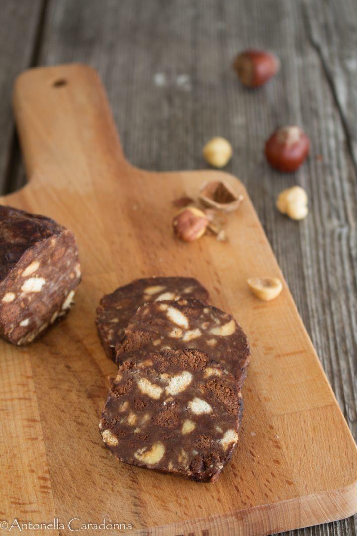 Salame di Cioccolato con Pan di Stelle