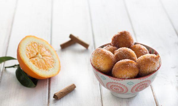 Frittelle di ricotta all'arancia