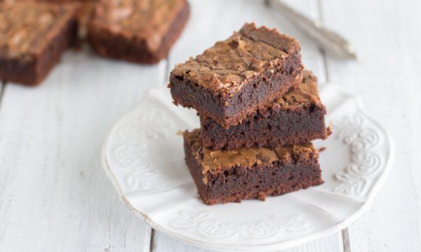 Brownies con cioccolato al latte