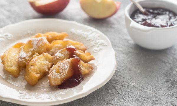 Frittelle di mele-ricetta trentina