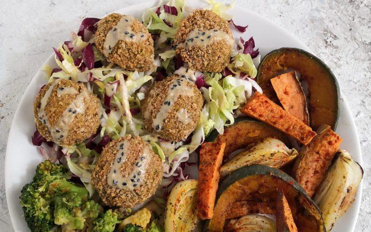 Polpette di zucca broccoli e quinoa