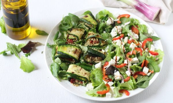Rotolini di zucchine e cous cous