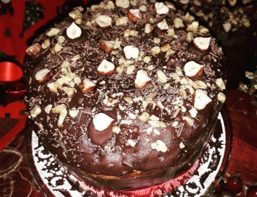 Panettone al cioccolato con lievito madre secco