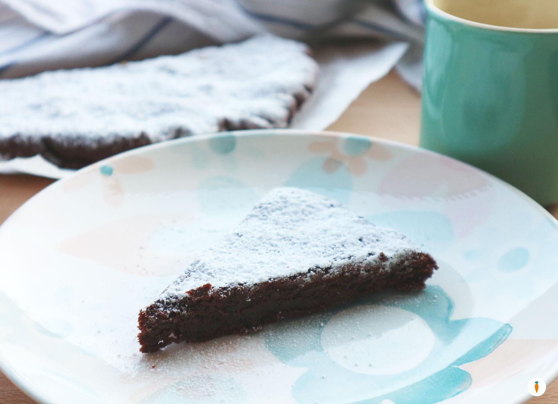 Ricetta Torta Al Cioccolato Senza Lievito.Torta Bassa Al Cioccolato Senza Lievito Oggi Veggie