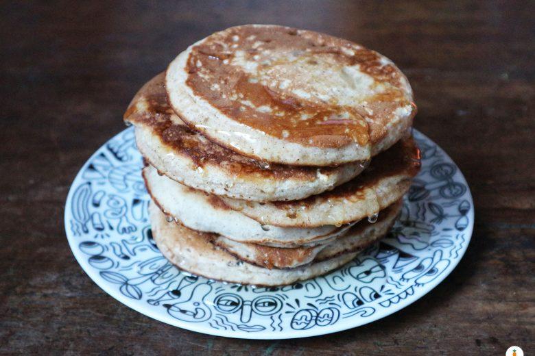 Pancake alle mele e cannella