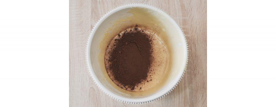 cacao in metà impasto