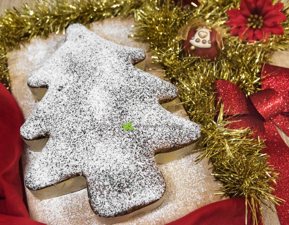 torta albero di Natale