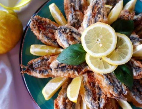 Acciughe ripiene al Pecorino e limone