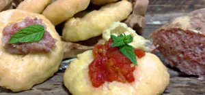 Pizzette fritte con lievito istantaneo