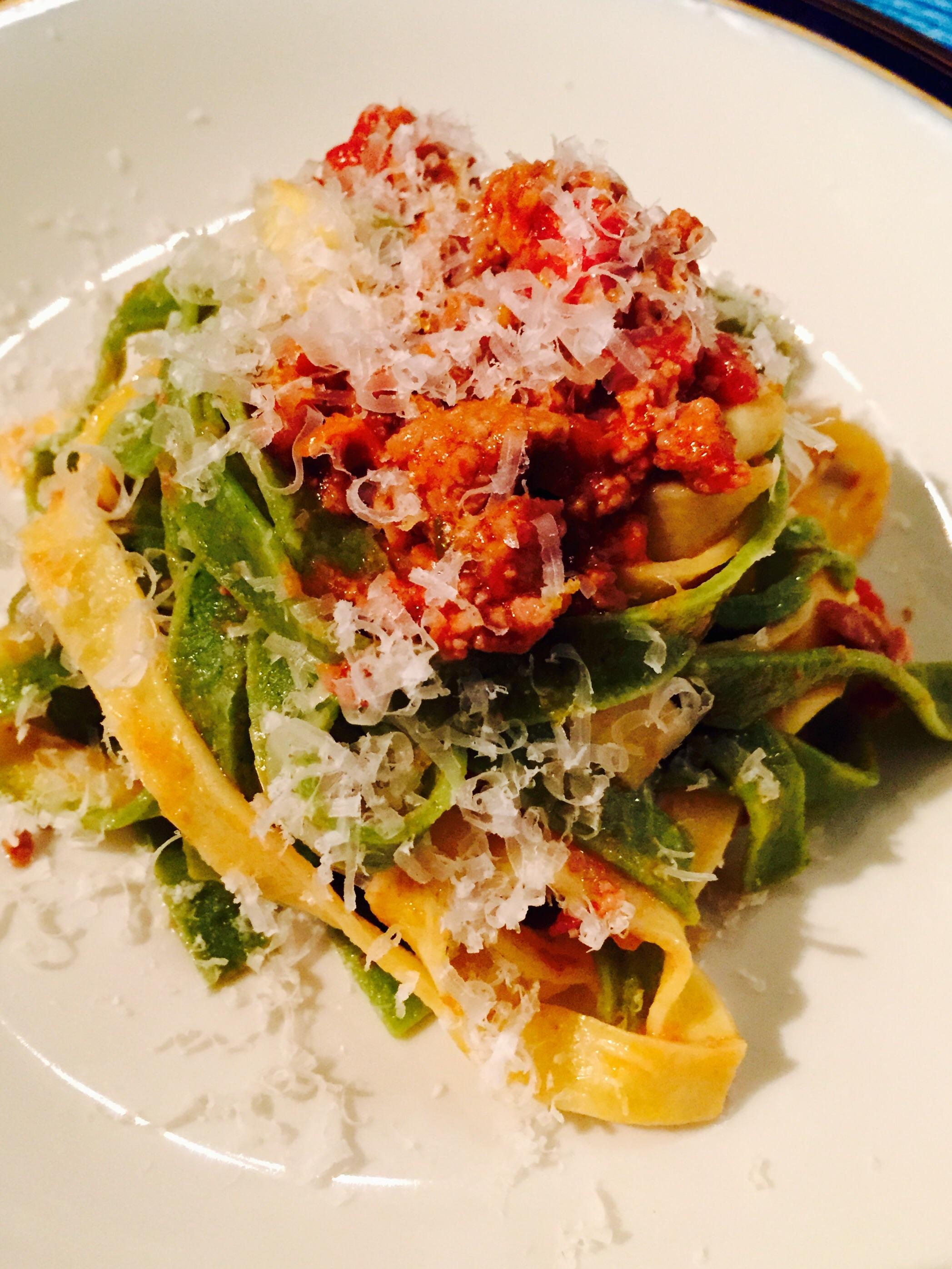 Primi piatti , Pasta / Tagliatelle con cuore di salmone affumicato ...