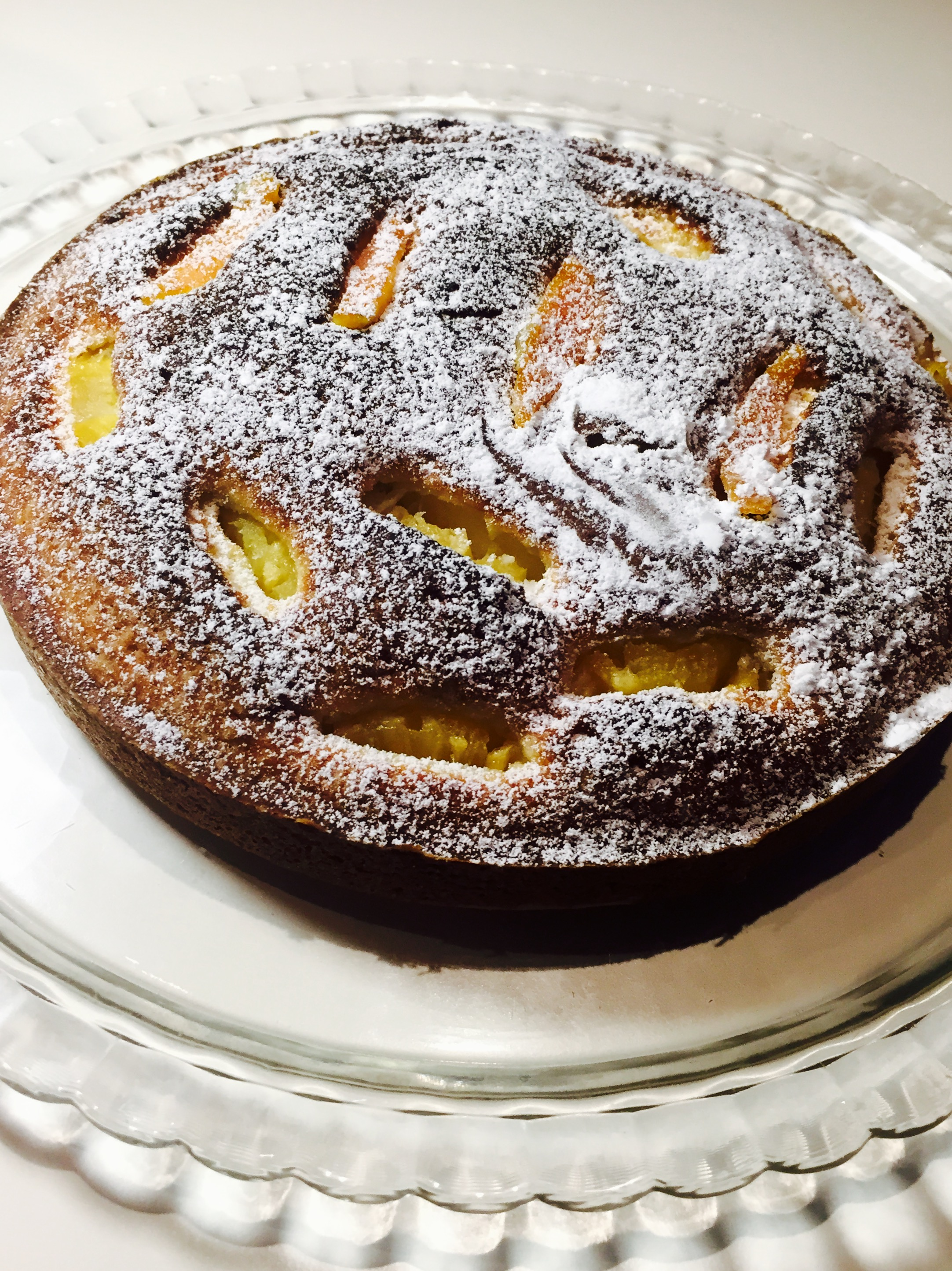 Torta morbida all ' Ananas