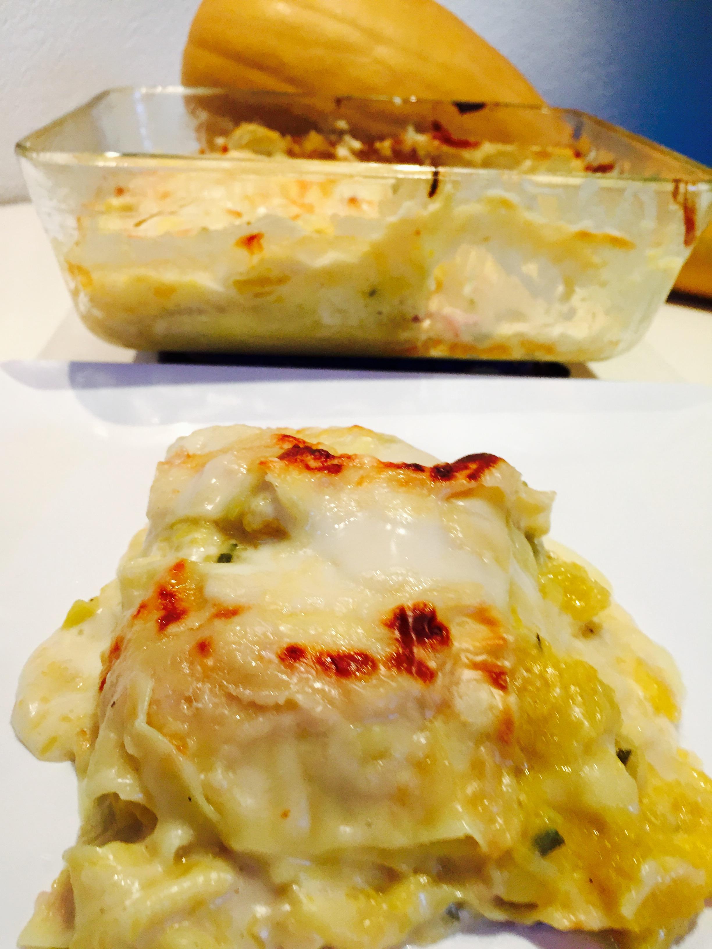 Lasagne  zucca speck e taleggio