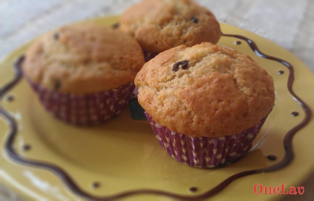 muffin alla banana senza uova onelav