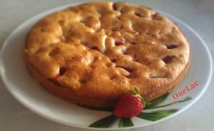 Torta morbida con le fragole