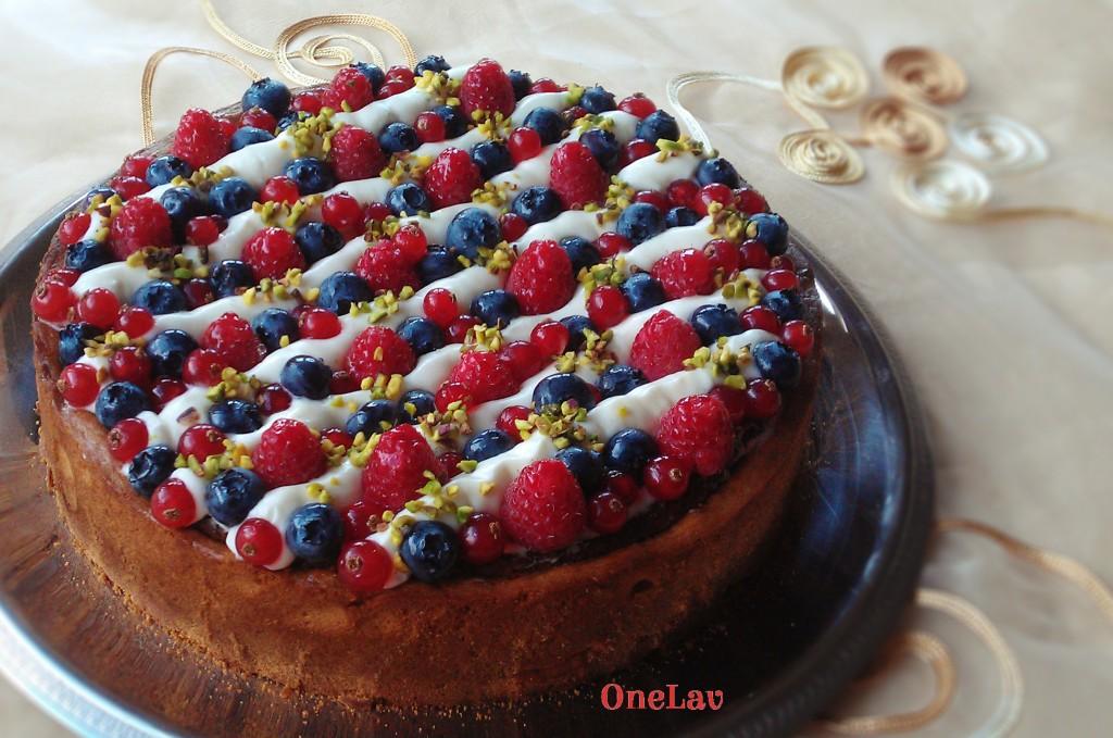 torta frangipane e namelaka Montersino