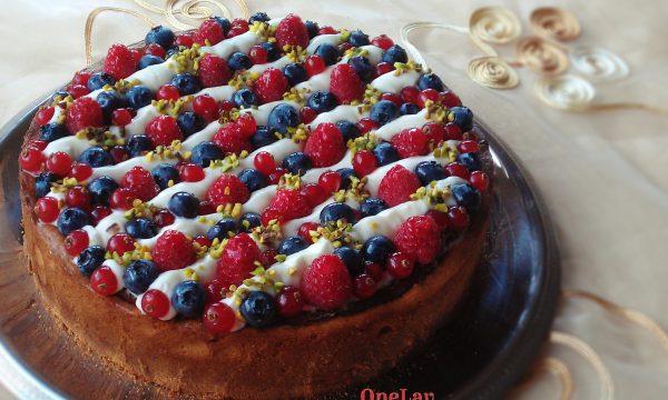 Torta frangipane e namelaka senza uova