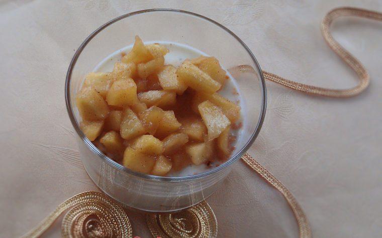 Panna cotta alle mele