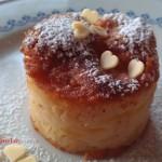 Torta cremosa con mele