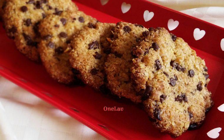 Cookies con fiocchi di avena