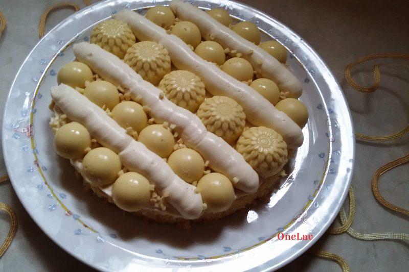Torta cremosa al bergamotto