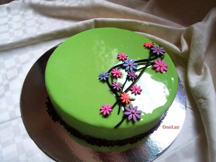 torta cremosa pere e cioccolato