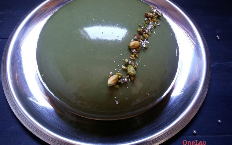 Torta cremosa al pistacchio e ricotta di Maurizio Santin